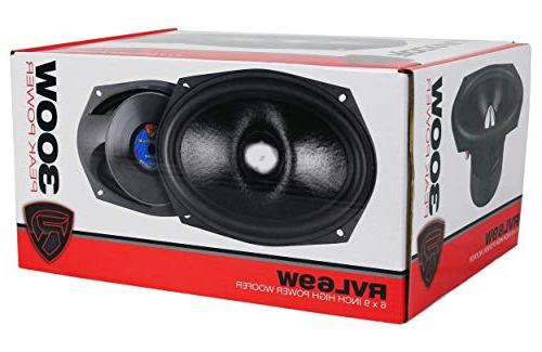 "Rockville 6x9"" 600w Cast Car Subwoofers Woofers"