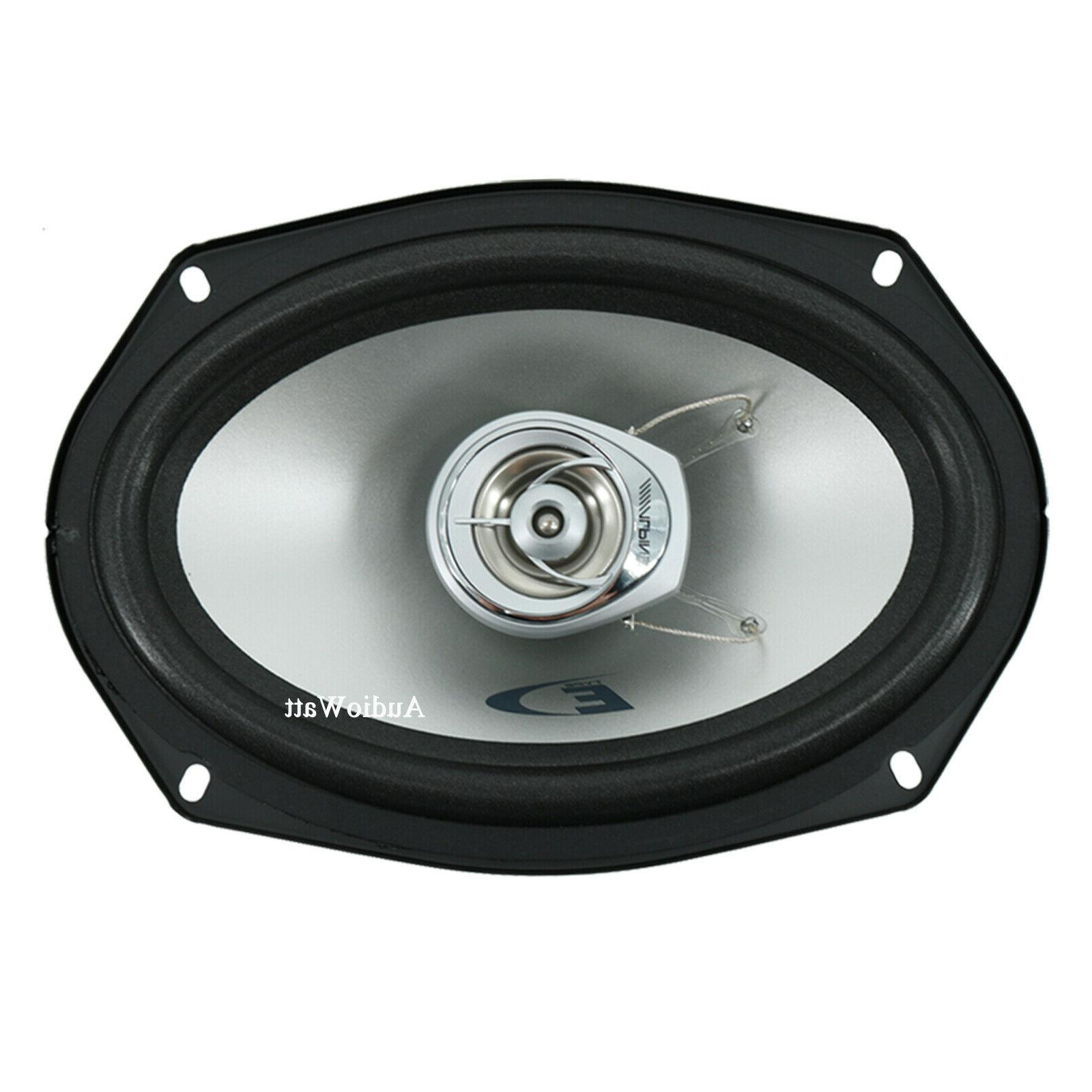 "ALPINE SXE-6925S 6x9"" DOME TWEETER CAR COAXIAL PAIR"