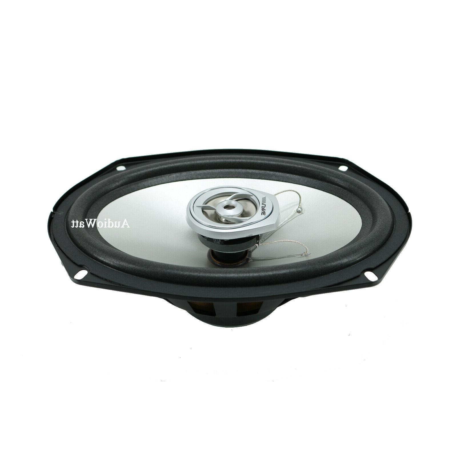 "ALPINE 6x9"" DOME TWEETER CAR SPEAKERS PAIR"
