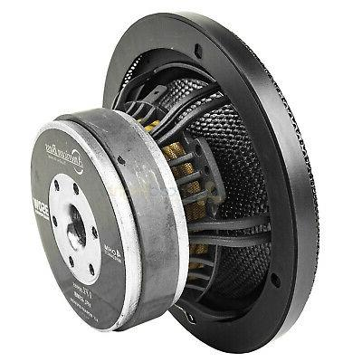 "American 6.5"" Midbass Speakers Ohm Back"