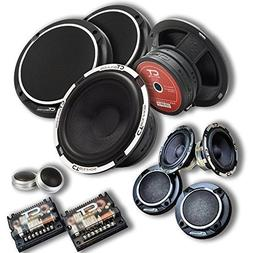 """CT Sounds Meso 6.5"""" 3-Way Component Car Audio Full Range Spe"""