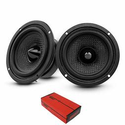 "3.5"" Mid Hi Range Speaker 100 Watts Max Power Replacement 4"