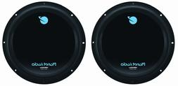 """NEW  12"""" DVC Subwoofers Bass.Replacement.Speakers.Dual 4+4oh"""