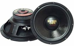 "NEW  12"" Woofer Speakers.Home.Car Audio Sound PAIR.inch.8 oh"