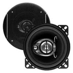 """NEW  4"""" 3way Car Audio Speakers.4ohm four inch Stereo Pair.R"""