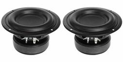 "NEW  5.25"" SubWoofer Bass Speakers.4 ohm Home Car Audio Woof"