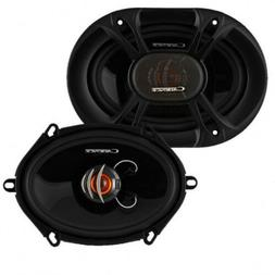 NEW  5x7 / 6x8 Car Audio Speakers.Full Range Coaxial Pair.4o