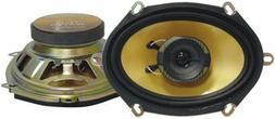 NEW   5x7 Speakers.Pair.five by seven inch.Car Audio 2 way A