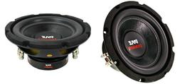 "NEW  8"" DVC Subwoofer Bass.Replacement.Speakers.Dual 4 ohm.C"