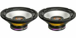 "NEW  8"" Subwoofer Speakers.4 ohm.Woofer.PAIR Bass.Car Replac"