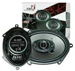 "New Soundxtreme 5x7"" / 6x8"" in 3-Way 350 Watts Coaxial Car S"