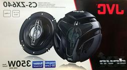 "NEW JVC CS-ZX640 6.5"" 4-Way DRVN Series Coaxial Car Audio Sp"