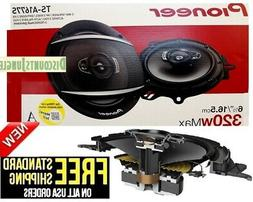 "NEW Pioneer TS-A1685S 6.5"" 350W 4-Way Car Stereo Speakers TS"
