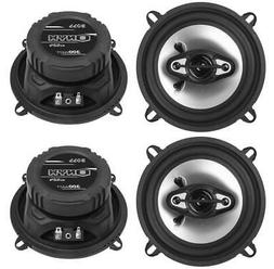 "BOSS NX524 5.25"" 600W 4-Way Car Audio Coaxial Speakers Stere"