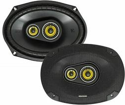 "KICKER 900W 6"" x 9"" CS Series 3-Way Coaxial Car Stereo Speak"