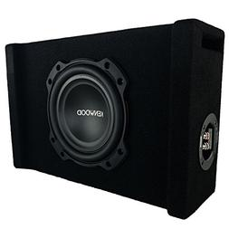 Kenwood P-W804B 8 Inch Oversized Car Audio Loaded Subwoofer