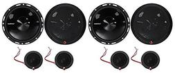 "2-Pairs Rockford Fosgate P165-SI Punch 240w 6.5"" Car Compone"