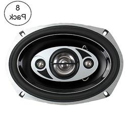 """BOSS AUDIO P694C 6x9"""" 4-Way 800W Car Coaxial Stereo Speakers"""
