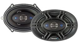 Gravity 5x7 / 6x8 inch 2-Way 230 Watts Coaxial Car Speakers
