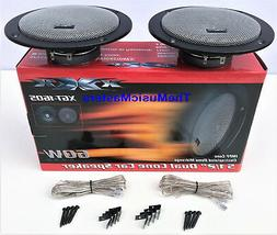 pair 6 inch thin mount car audio