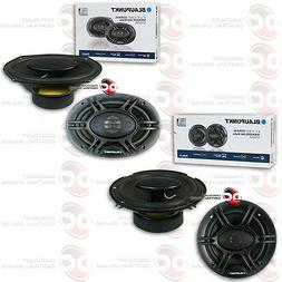 "BLAUPUNKT PAIR OF 6x9"" 4-WAY SPEAKERS PLUS PAIR OF 6.5"" 4-WA"