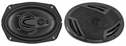 "Pair Rockville RV69.4A 6x9"" 4-Way Car Speakers 1000 Watts/22"