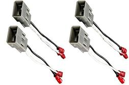 Pair of Metra 72-7800 Speaker Wire Adapters for Select Hond