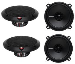 "Pairs Rockford Fosgate R1525X2 5.25"" 2-Way 320 Watt Car Aud"