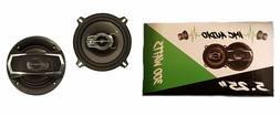 "IMC AUDIO 5.25"" 300W Car Speakers 5.25 5 1/4 to Replace Fact"