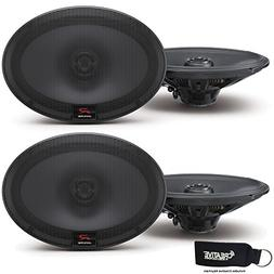 Alpine R-S69 Bundle - Two pairs of R-S69 6x9 Inch Coaxial 2-