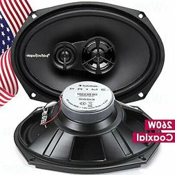 "Rockford Fosgate R1T-S 160W Peak 1"" Dome Car Tweeters"