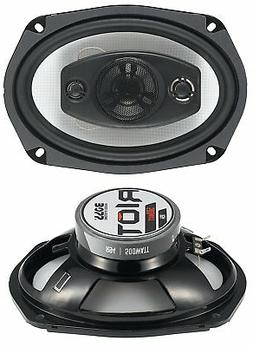 BOSS Audio R94 500 Watt , 6 x 9 Inch, Full Range, 4 Way Car