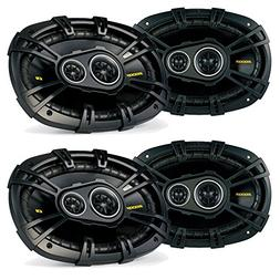 Kicker Ram Crew Cab Truck 2012 & up speaker upgrade - Two pa