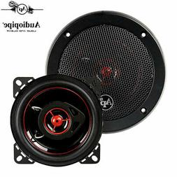 "AUDIOPIPE Redkine Speaker 4"" 2-WAY  100 WATT PP CONE"