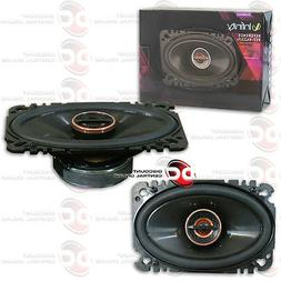 "NEW INFINITY REFERENCE REF-6422cfx 4"" x 6"" CAR AUDIO 2-WAY S"