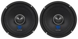 "Rockville RXM64 6.5"" 300w 4 Ohm Mid-Range Drivers Car Speak"