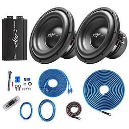 "Skar Audio  SDR-10 D4 1,200 Watt Max Power 10"" Subwoofers wi"