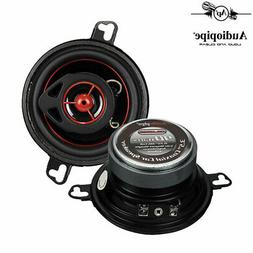 "Set 2 Audiopipe 90W 3.5"" Coaxial Speakers Pair CSL-1302R Rub"