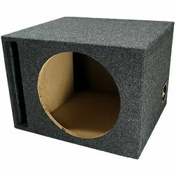 "Car Audio Single 12"" Speaker Vented Subwoofer Stereo Sub Box"