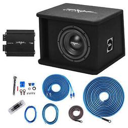 "SKAR AUDIO SINGLE 8"" 700W SDR SERIES BASS PACKAGE W LOADED B"