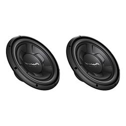 Pioneer 1300 Watt 12 Inch Single 4-Ohm Car Audio Subwoofer,