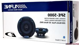 "Alpine Spe-5000 5.25"" 2 Way Pair of Car Speakers Totalling 2"