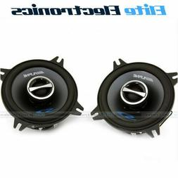 "Alpine Type-S SPS-410 4"" Coaxial 2-Way Car Audio Speakers"