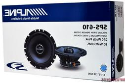 sps 610 car audio coaxial