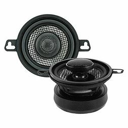 "American Bass SQ 3.5 2 - Way Speakers with 80W, 3.5"", Grey"