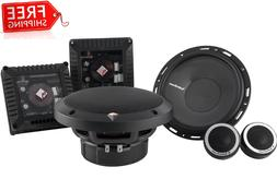 """ROCKFORD FOSGATE T1650-S 6.5"""" POWER 2-WAY CAR COMPONENT SYST"""
