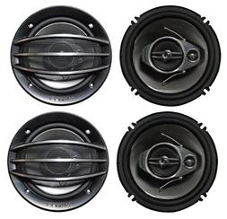 "Pioneer TS-A1674R A-Series 6 1/2"" 3-Way 300 Watts Speakers,"