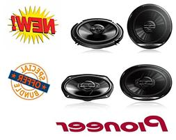 "New Pioneer TS-G6930F 6"" x 9"" 3-Way Coaxial Speaker 400W Max"