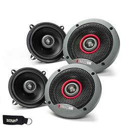 MB Quart - Two Pairs of Formula 5.25 Inch 2-Way Coaxial Car