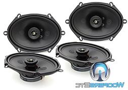 "Two sets of Memphis 15-PR572V2 5"" x 7"" 80 Watts Peak 2-Way P"